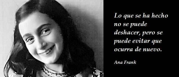 Concurso literario sobre Ana Frank busca tres premiados de Iriondo