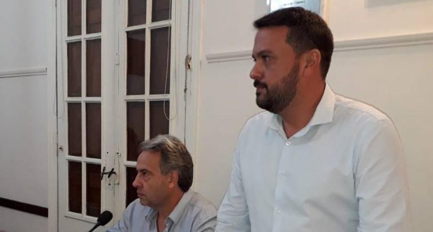 Díaz Patrón propuso incorporar un arenero en la Plaza San Martín