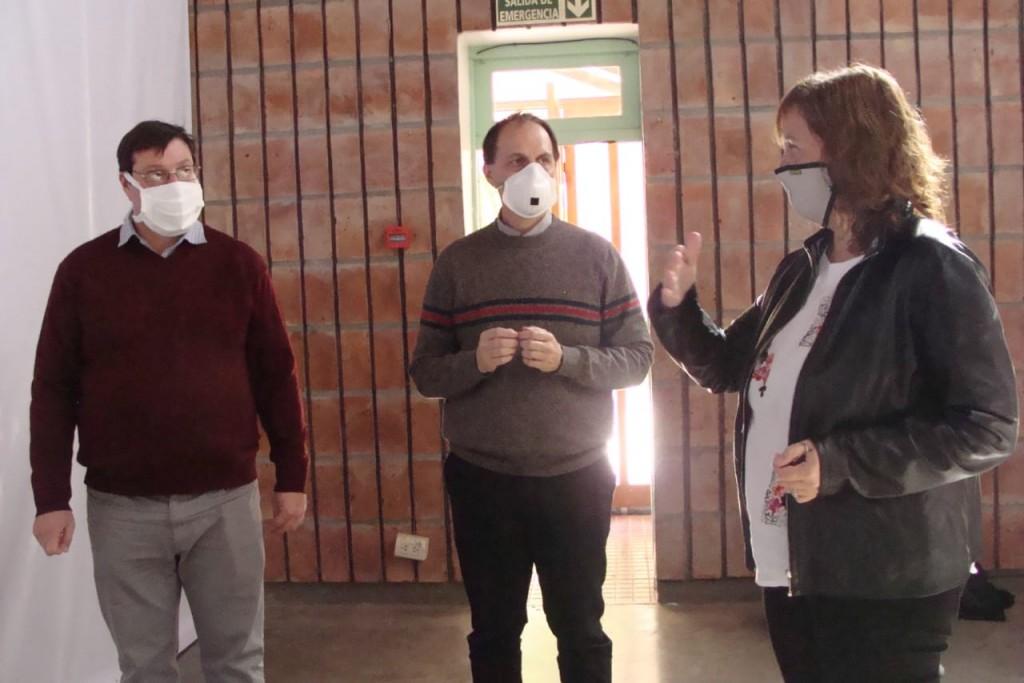 Rasetto y el Subsecretario de Salud recorrieron localidades de Iriondo