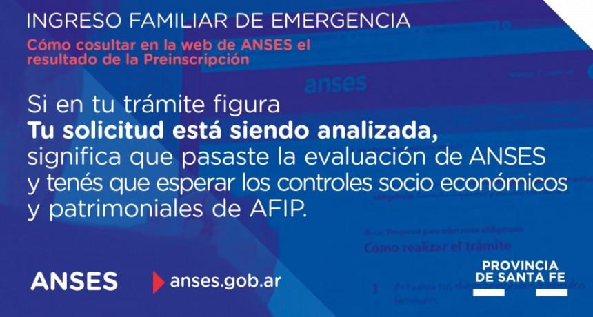Anses brinda precisiones sobre las consultas por el Ingreso Familiar de Emergencia