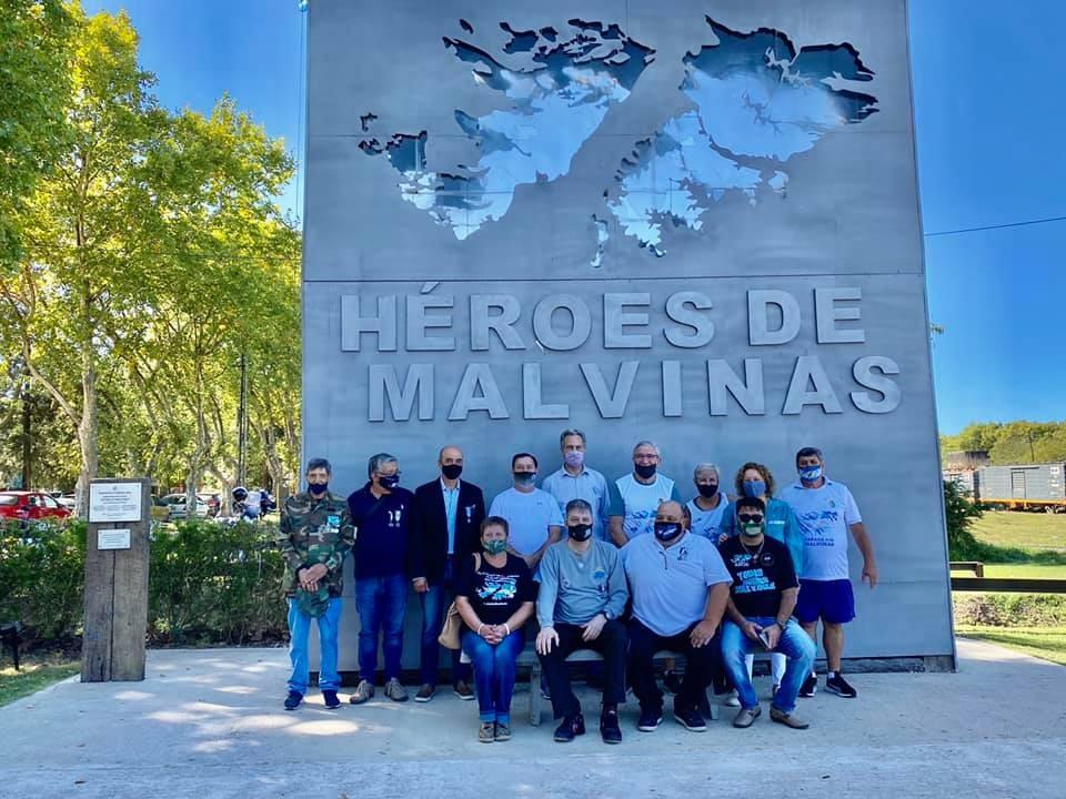 El Municipio y excombatientes conmemoraron el 39º Aniversario de la Gesta de Malvinas