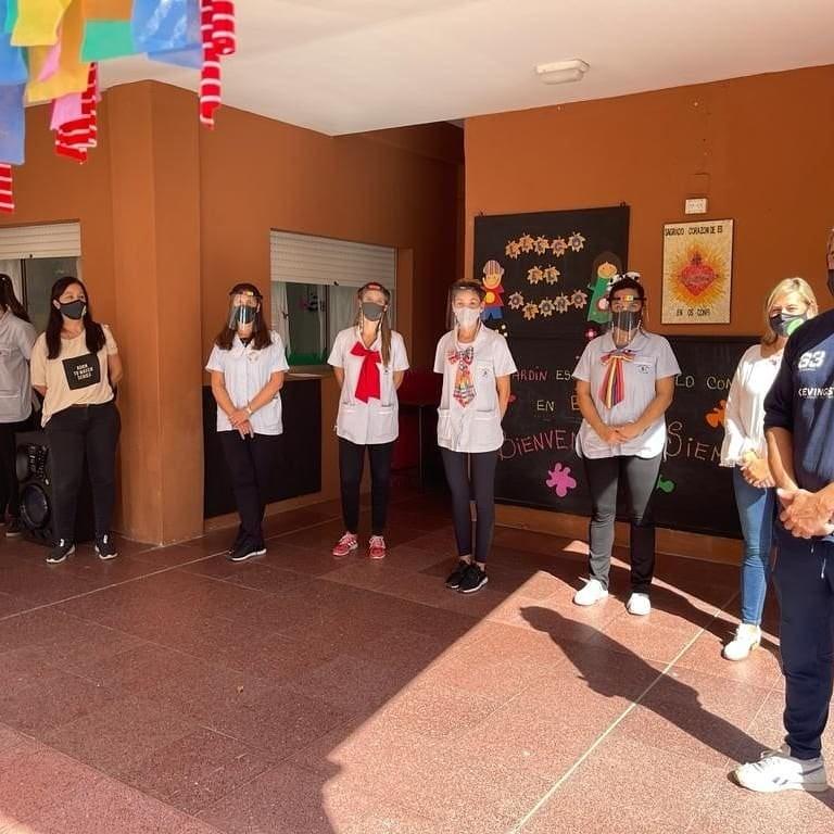 Padres Organizados reunidos con directivos del Instituto José Razetto
