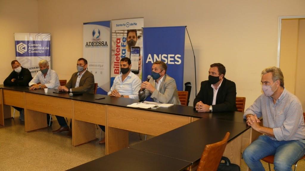 Se presentó en Cañada de Gómez Beneficios ANSES para el Centro Sur de Santa Fe