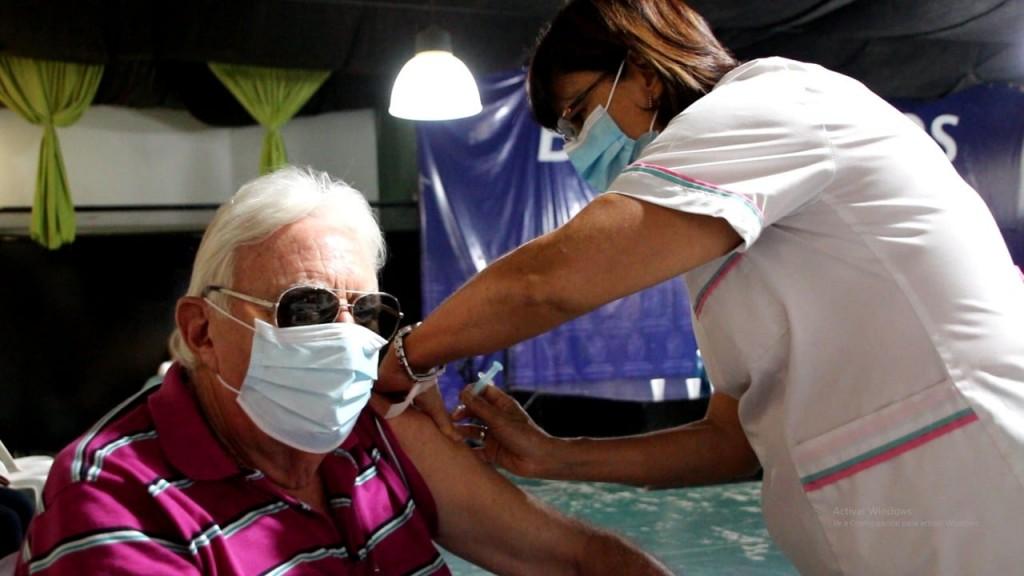 Ya se aplicaron más de cinco mil dosis de vacunas contra el Covid-19