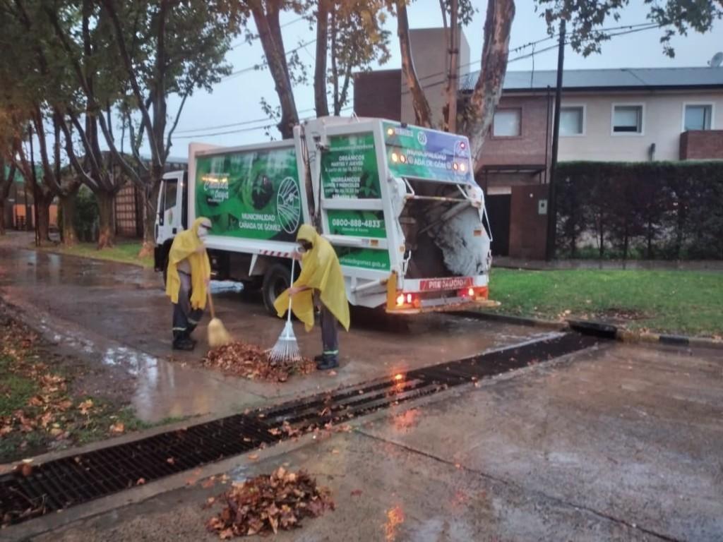 Intervenciones del municipio tras la lluvia