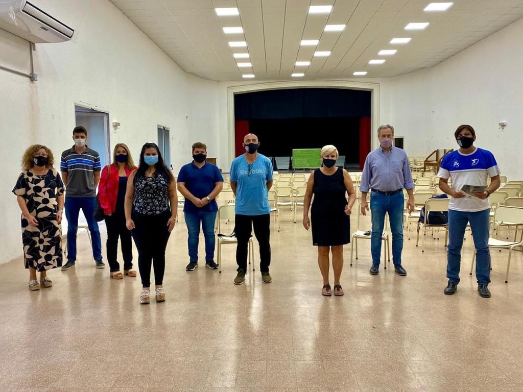 Clérici y Casalegno anunciaron avances en las gestiones para el edificio propio del profesorado