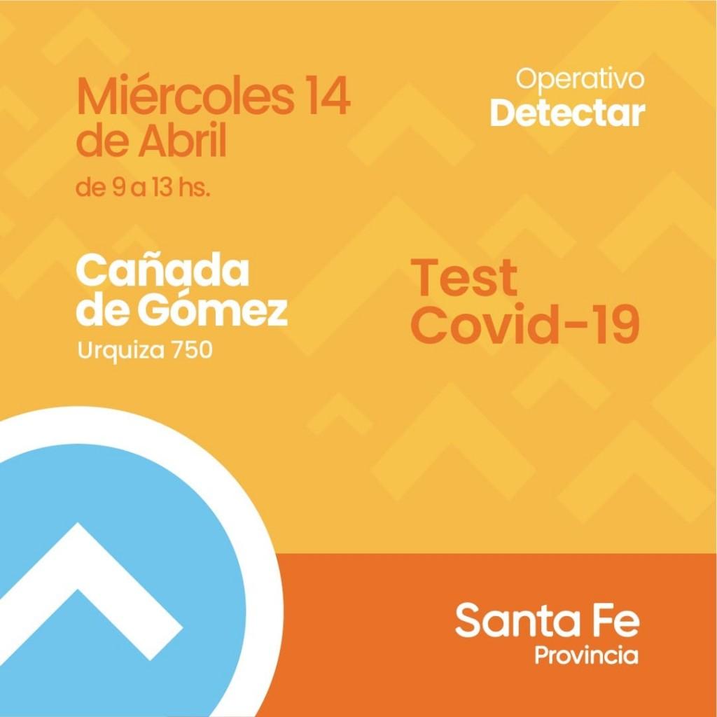 HOY se realiza el Plan Detectar en Cañada