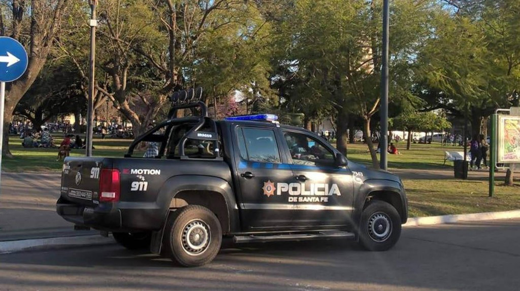 Accidente en inmediaciones de la Escuela Belgrano