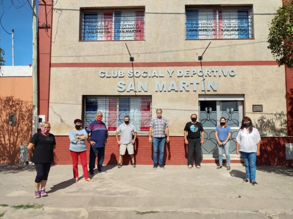 Aporte económico al Club San Martín