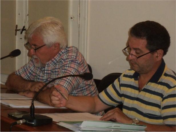 Los concejales del PJ también presentaron sus declaraciones juradas