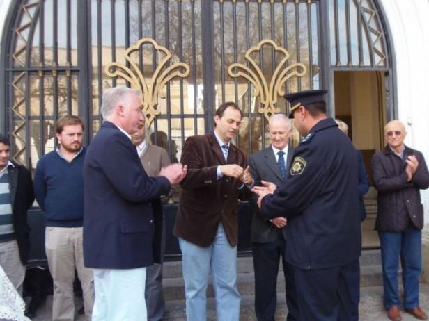 La Unidad Regional X recibió 3 nuevos móviles policiales para Iriondo