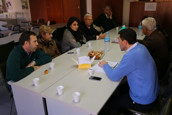 Clerici junto a Empresarios y Autoridades de Comercio Exterior