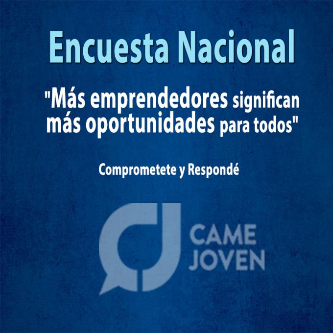 Encuesta Nacional CAME JOVEN