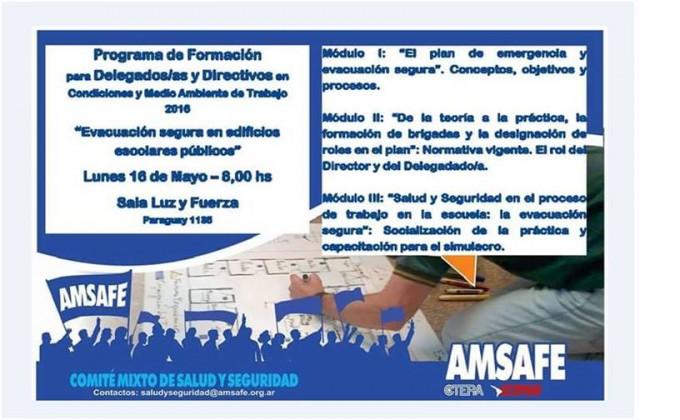 Programa de formación para Delegados y Directivos AMSAFE