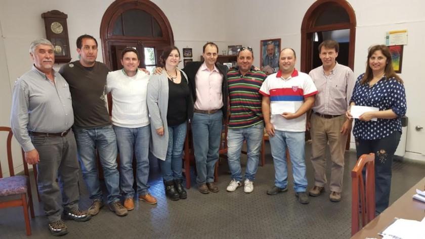 Distintas instituciones del Departamento Iriondo recibieron aportes de Rasetto