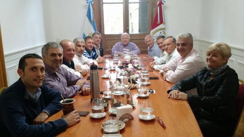 Clérici y el foro de intendentes se reunieron con Lifschitz