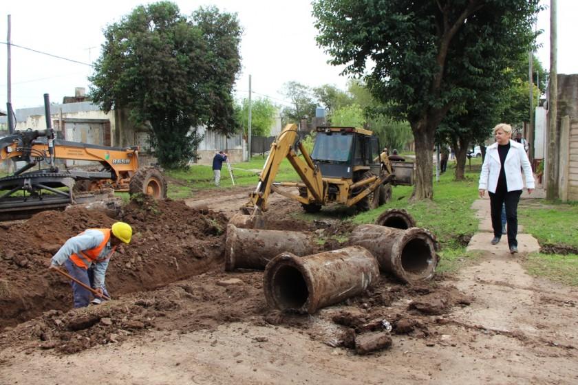 Municipio realiza trabajos de conservación de calles en zona sur