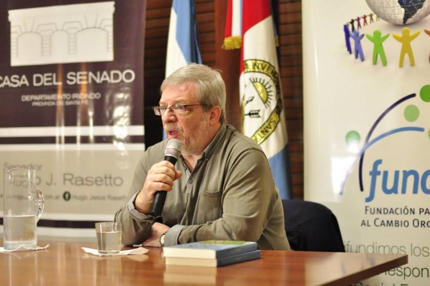 Sergio Levinsky en la Casa del Senado