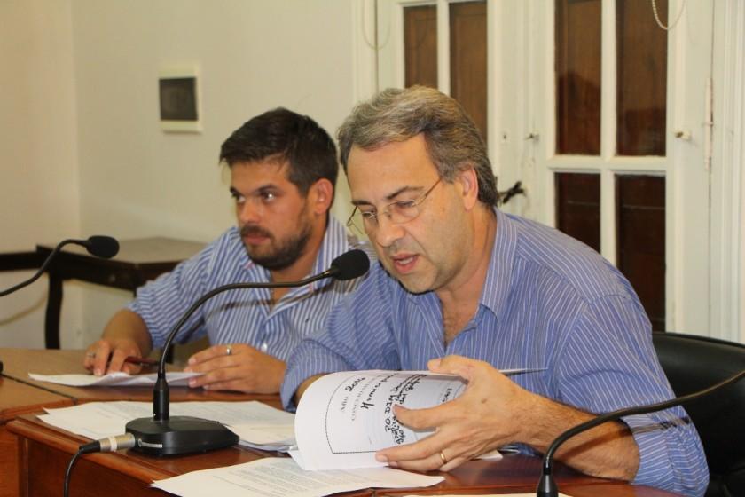 Casalegno cuestionó la distribución de los Aportes del Tesoro Nacional
