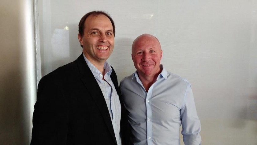 En Nación, Rasetto gestiona para los clubes de Iriondo