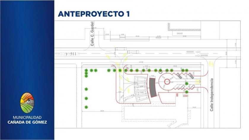 Clérici anunció que la Terminal de Ómnibus se instalará en el Parque Municipal