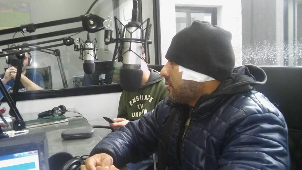 Intentó matarme, señaló Oscar Perez al comentar el hecho de violencia ocurrido el viernes