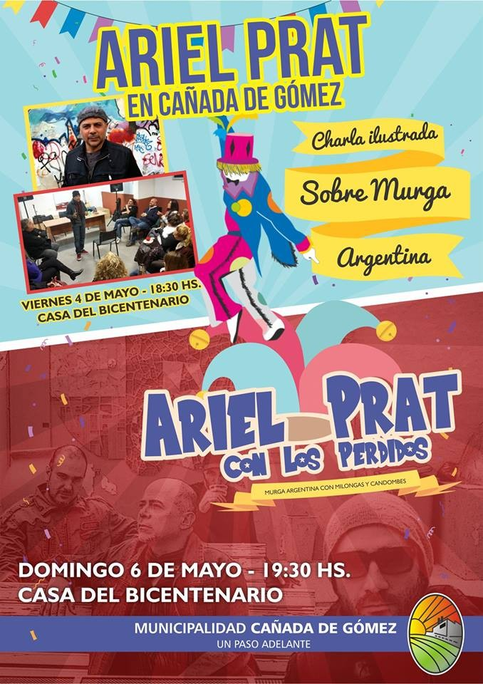 Ariel Prat vuelve a Cañada