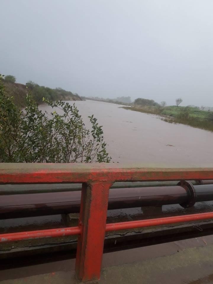 Autoridades Municipales destacan el comportamiento de las obras hidricas