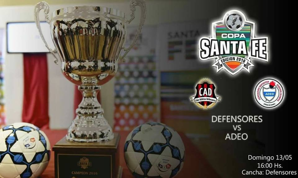 Copa Santa Fe: Defensores vs ADEO