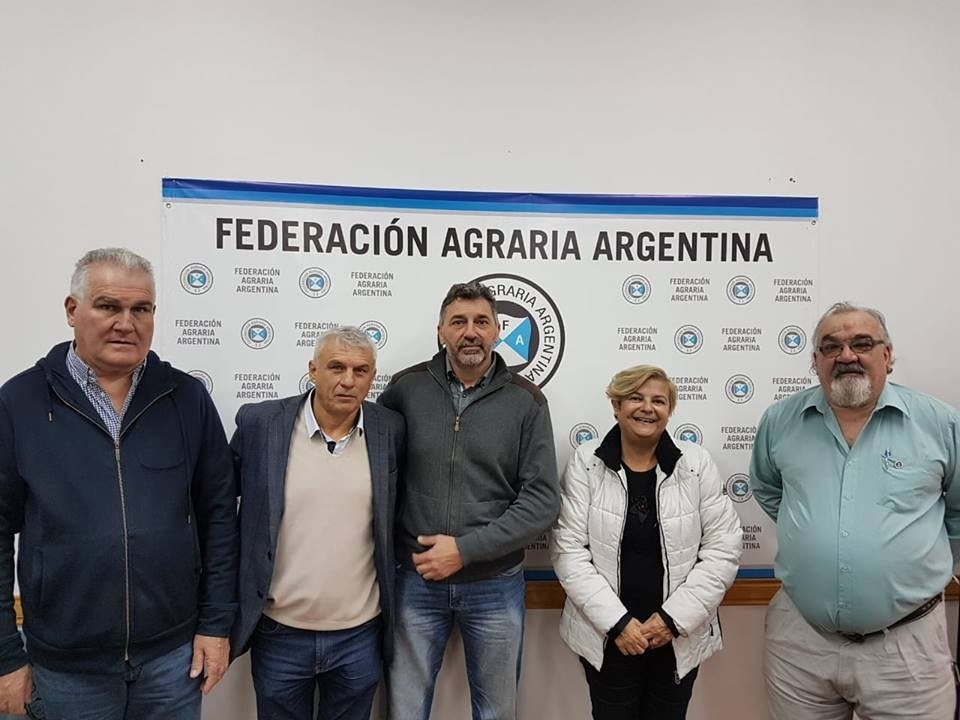 Reunión con Federación Agraria Argentina