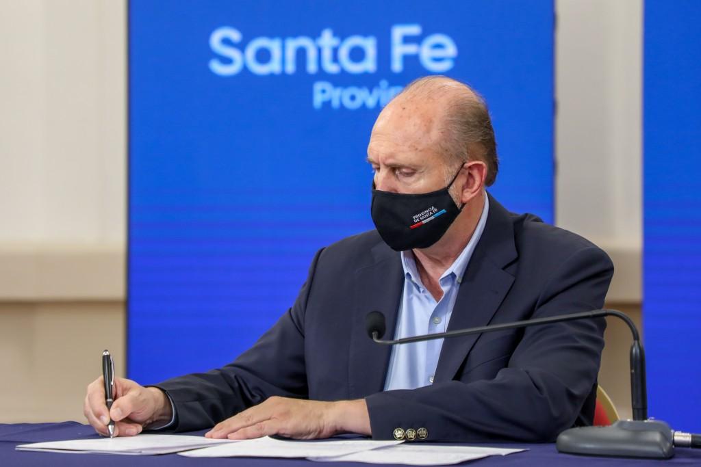 La provincia de Santa Fe adhiere al Decreto de Necesidad y Urgencia (DNU) N° 287/21 del Poder Ejecutivo Nacional