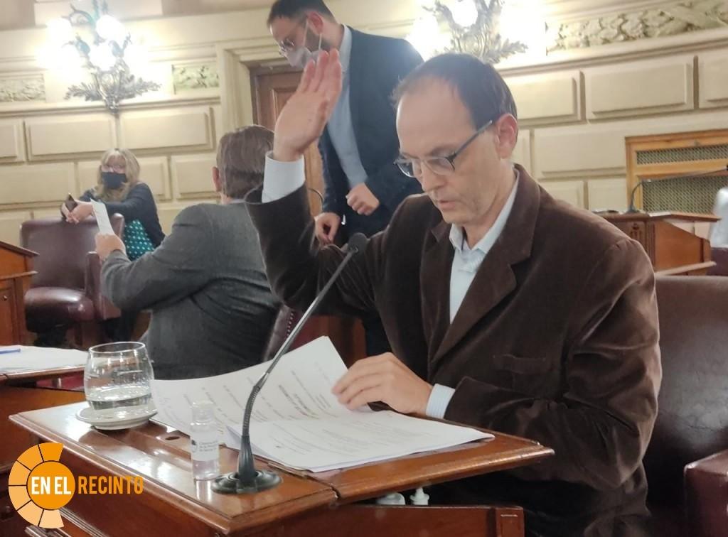 Media sanción a proyecto de Rasetto para la expropiación del terreno para el ISP N5