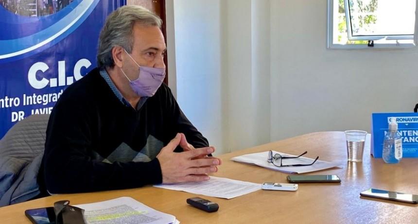 Casalegno propone nuevas medidas en la lucha contra el Covid