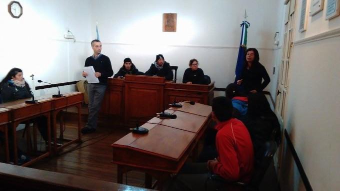 Visita de alumnos de 5º Año de la Escuela Juan Francisco Seguí