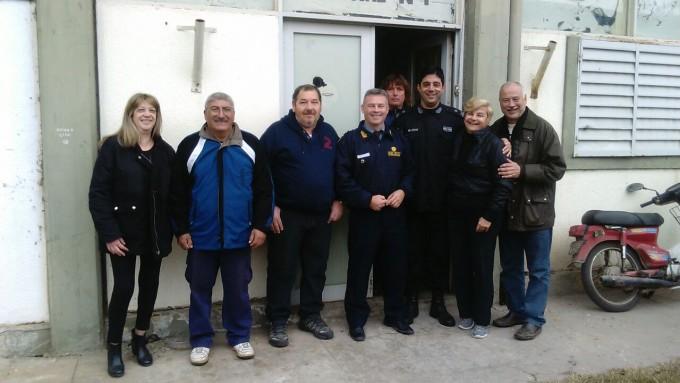 El Municipio continúa trabajando en el Destacamento del Barrio FONAVI