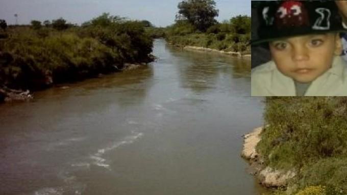 Hallaron el cuerpo e un niño en el rio Carcarañá que podría ser el de Uriel