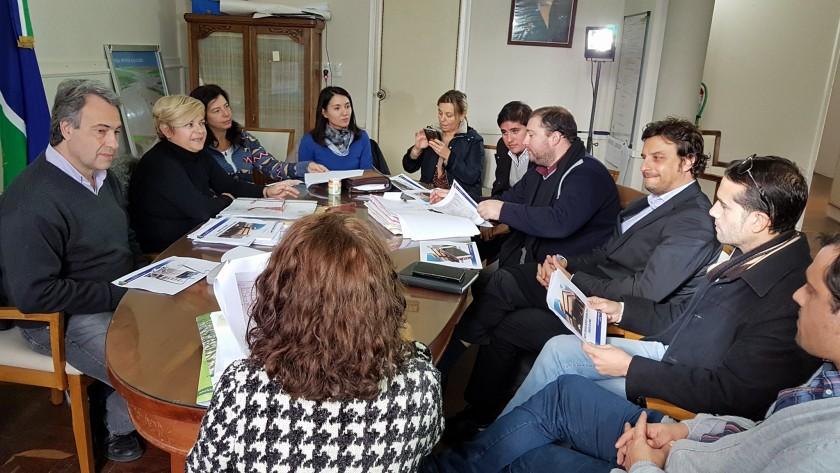 Encuentro del municipio con abogados por el futuro edificio de tribunales