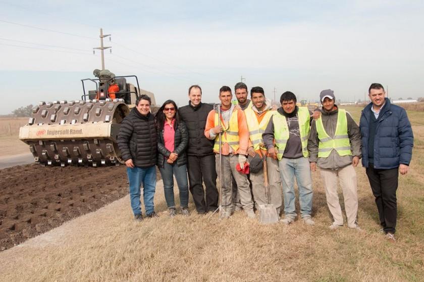 Rasetto: La reparación de la Ruta 91 entró en su última etapa