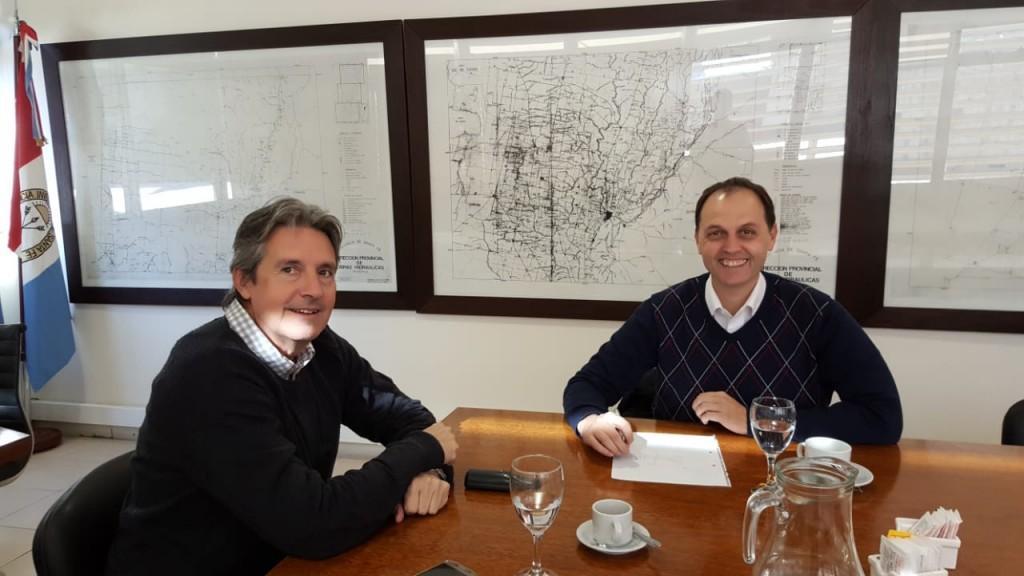 Nuevo encuentro entre Rasetto y Garibay por obras en Iriondo