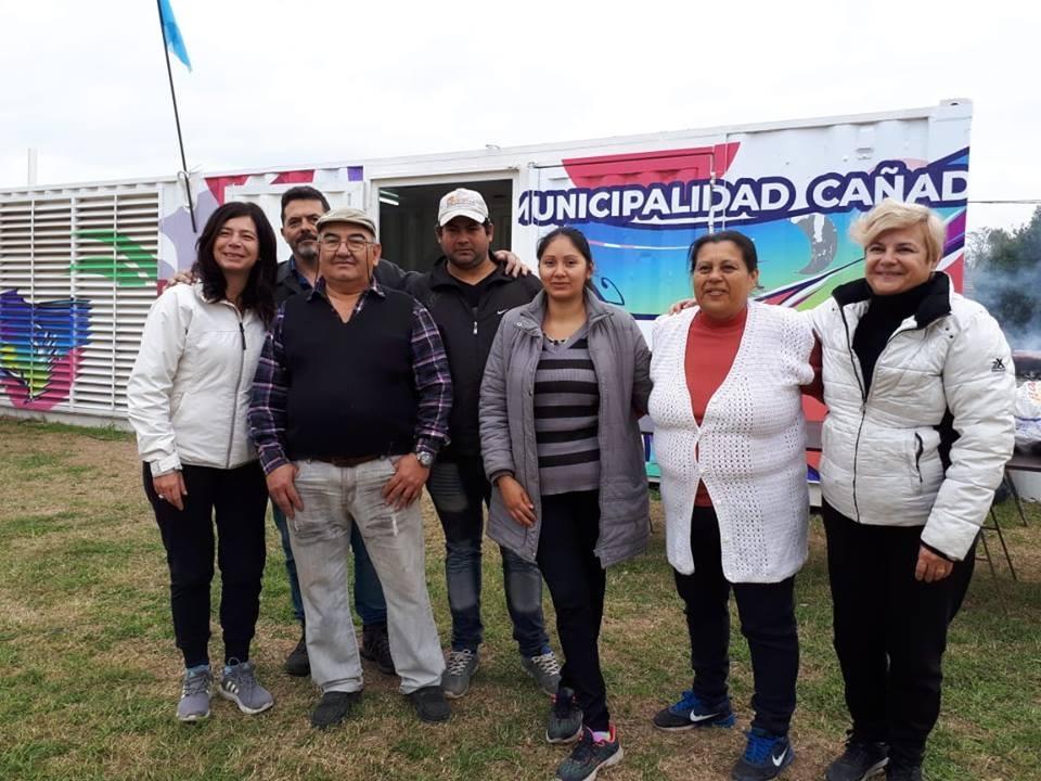 La intendenta junto a clubes y vecinos inauguró la sede de la Vecinal Migoni