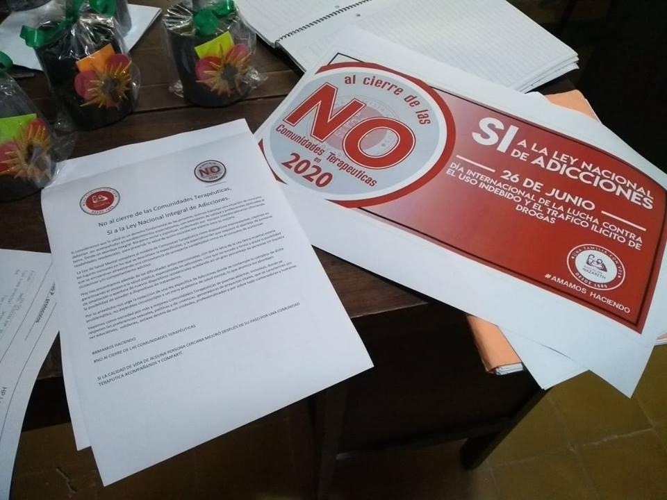 Ferrigno: No al cierre de las Comunidades Terapéuticas