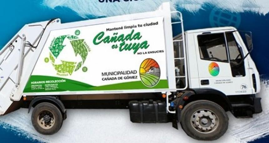 La recolección de residuos del lunes 15 pasa al martes 16