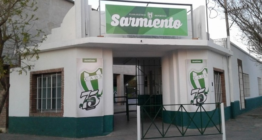 Comienzan las actividades en el Club Atlético y Deportivo Sarmiento