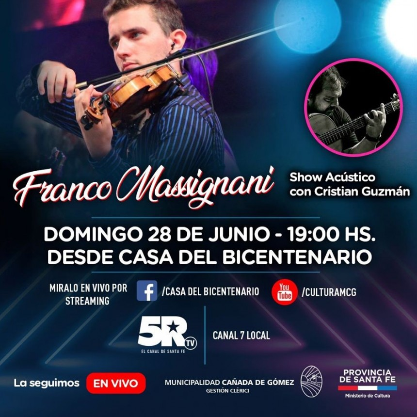 Franco Massignani en vivo por streaming