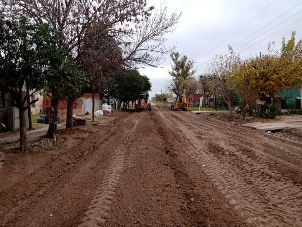 El Municipio realiza trabajos de mejorado