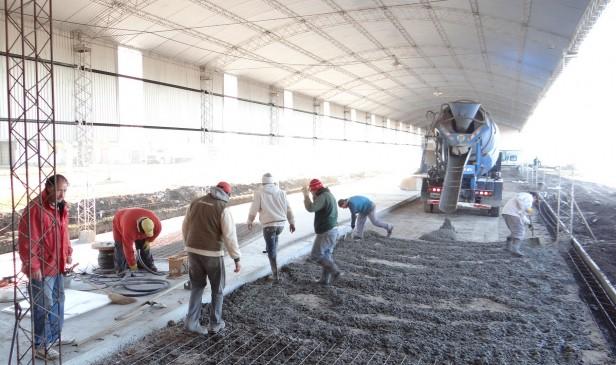 Ejecutan obras para la nueva Maestranza Municipal
