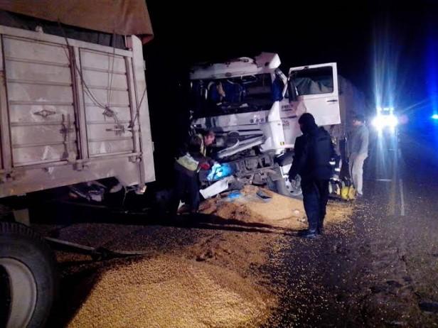Accidente de Tránsito en Ruta 9 y Vias Férreas