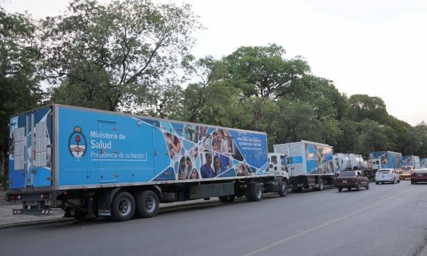 El lunes estarán los Camiones Sanitarios en la ciudad