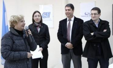 La intendenta participó del acto por los 77 años del Centro Económico