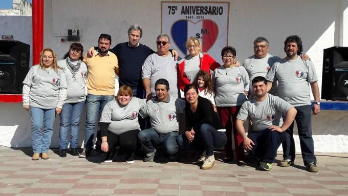 Acompañamiento municipal a los festejos del Club San Martín